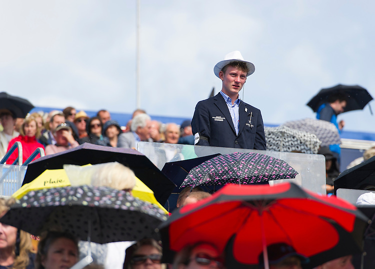 A steward on duty on day 3 at the Aegon Championships 2016<br /> <br /> Photographer Ashley Western/CameraSport<br /> <br /> Tennis - Aegon Championships 2016- Day 3 - Wednesday 15th June 2016 - Queen's Club - London <br /> <br /> World Copyright &copy; 2016 CameraSport. All rights reserved. 43 Linden Ave. Countesthorpe. Leicester. England. LE8 5PG - Tel: +44 (0) 116 277 4147 - admin@camerasport.com - www.camerasport.com