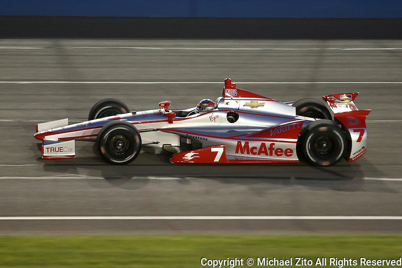 10/19/13 Fontana, CA: Sebastien Bourdais during the MAVTV 500 at the Auto Club Speedway