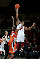 STANFORD CA-NOVEMBER 28, 2010: Nnemkadi Ogwumike during the Stanford 93-78 win over Texas in Stanford, California.