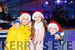 Aidan and ADra Kongjoni and Gavin O'Sullivan Tralee at the Killarney on Ice on Saturday