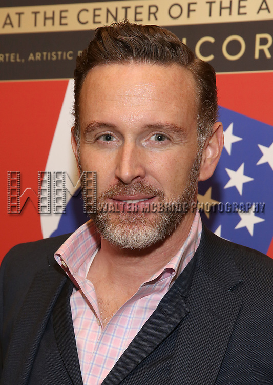 """Ben Davis attends the closing Night performance reception for Encores! """"Call Me Madam"""" at City Center on February 10, 2019 in New York City."""