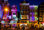Amsterdam is colorful Damrak.