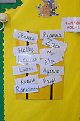 State Primary School.  Class children's names.
