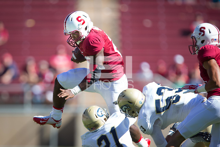 STANFORD, CA-August 30, 2014- Stanford defeats UC Davis in the 2014 Season Home Opener at Stanford Stadium.