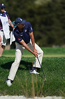 Matt Kucher (USA) on the 18th fairway during the 3rd round at the PGA Championship 2019, Beth Page Black, New York, USA. 19/05/2019.<br /> Picture Fran Caffrey / Golffile.ie<br /> <br /> All photo usage must carry mandatory copyright credit (© Golffile | Fran Caffrey)