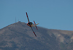 A photograph from the National Championship Air Races in  Reno, Nevada on Saturday, Sept. 14, 2019.