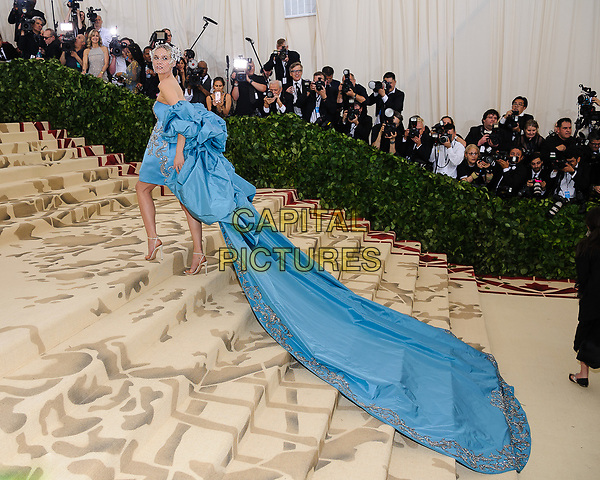 07 May 2018 - New York, New York - Diane Kruger. 2018 Metropolitan Museum of Art Costume Institute Gala: &quot;Heavenly Bodies: Fashion and the Catholic Imagination. <br /> CAP/ADM/CS<br /> &copy;CS/ADM/Capital Pictures