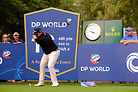 Shane Lowry (IRL) on the 16th tee during the 1st round of the DP World Tour Championship, Jumeirah Golf Estates, Dubai, United Arab Emirates. 21/11/2019<br /> Picture: Golffile | Fran Caffrey<br /> <br /> <br /> All photo usage must carry mandatory copyright credit (© Golffile | Fran Caffrey)