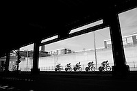 United Healthcare team (USA) on course<br /> <br /> Elite Men&rsquo;s Team Time Trial<br /> UCI Road World Championships Richmond 2015 / USA