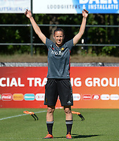 20170717 - RIJEN , NETHERLANDS :  Belgian Lenie Onzia pictured during a training session of the Belgian national women's soccer team Red Flames on the pitch of Rijen , on Tuesday 18 July 2017 in Rijen . The Red Flames are at the Women's European Championship 2017 in the Netherlands. PHOTO SPORTPIX.BE | DAVID CATRY