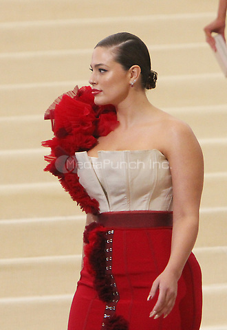 NEW YORK, NY May 01, 2017 Ashley Graham attend  The Metropolitan Museum of Art Costume Institute Benefit Gala for Rei Kawakubo Comme des Garcons at  Metropolitan Museum of Art  in New York May 01,  2017. Credit:RW/MediaPunch