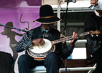 Ebony Hillbillies play the first weekend of Jazz Fest in 2009.