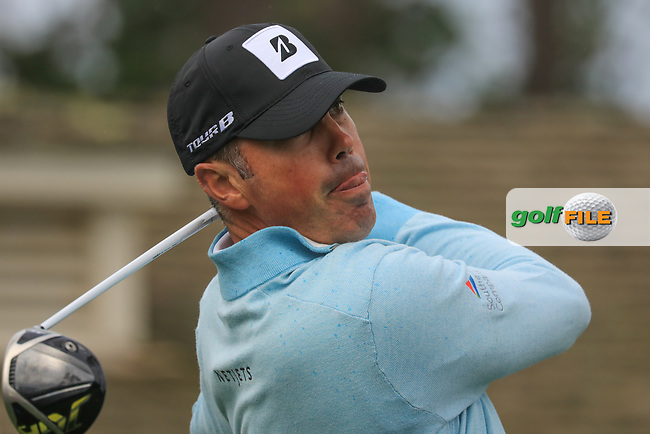 Matt Kuchar (USA) in action at Spyglass Hill Golf Course during the second round of the AT&amp;T Pro-Am, Pebble Beach Golf Links, Monterey, USA. 08/02/2019<br /> Picture: Golffile | Phil Inglis<br /> <br /> <br /> All photo usage must carry mandatory copyright credit (&copy; Golffile | Phil Inglis)