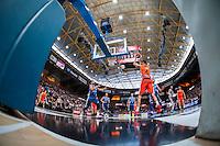 VALENCIA, SPAIN - NOVEMBER 22: Jordi Trias during Endesa League match between Valencia Basket Club and Retabet.es GBC at Fonteta Stadium on November 22, 2015 in Valencia, Spain