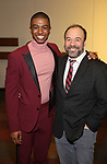 "Christian Dante White and Danny Burstein attends the ""My Fair Lady"" Re-Opening Celebration at the Vivian Beaumont Theatre on January 27, 2019 in New York City."
