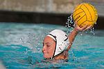 Manhattan Beach, CA 02/16/11 - Jessica Becker (Edison #7) in action during the 2011 first round CIF girls waterpolo playoffs between Edison and Mira Costa.