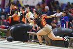 Misaki Mukotani (JPN), <br /> AUGUST 22, 2018 - Bowling : <br /> Women's Trios Block 2 <br /> at Jakabaring Sport Center Bowling Center <br /> during the 2018 Jakarta Palembang Asian Games <br /> in Palembang, Indonesia. <br /> (Photo by Yohei Osada/AFLO SPORT)