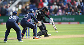 Jun 6th, The SSE SWALEC, Cardiff, Wales; ICC Champions Trophy; England versus New Zealand; Ross Taylor of New Zealand takes on the spin of Adil Rashid of England