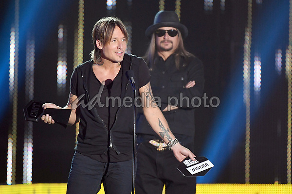 07 June 2017 - Nashville, Tennessee -  Keith Urban, Kid Rock. 2017 CMT Music Awards held at Music City Center. Photo Credit: Laura Farr/AdMedia