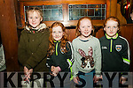 Ballydonoghue Community Games Awards Night: Pictured at the Ballydonoghue Community games awards held at he Thatch Bar on Subday evening last were Katie Power, Emma Lynch, Ella Dalton & Rachel Lynch.