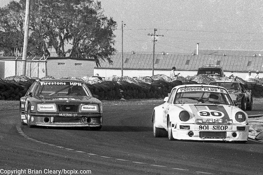 12 Hours or Sebring, Sebring International Raceway, Sebring, FL, March 19, 1983.  (Photo by Brian Cleary/bcpix.com)