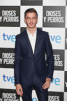 Victor Palmero poses at `Dioses y perros´ film premiere photocall in Madrid, Spain. October 07, 2014. (ALTERPHOTOS/Victor Blanco) /nortephoto.com