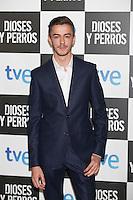 Victor Palmero poses at `Dioses y perros´ film premiere photocall in Madrid, Spain. October 07, 2014. (ALTERPHOTOS/Victor Blanco) /nortephoto.com