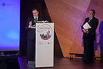 "Health Minister Alfonso Alonso attends ""1st INTERNATIONAL SYMPOSIUM ON CANCERS OF THE SKIN"" in Madrid, Spain. January 30, 2015. (ALTERPHOTOS/Victor Blanco)"