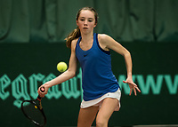 The Hague, The Netherlands, March 17, 2017,  De Rhijenhof, NOJK 14/18 years, Sanne Schalekamp (NED)<br /> Photo: Tennisimages/Henk Koster