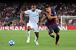 UEFA Champions League 2018/2019 - Matchday 1.<br /> FC Barcelona vs PSV Eindhoven: 4-0.<br /> Denzel Dumfries vs Luis Suarez.