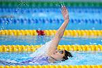 Natsumi Sakai (JPN), <br /> AUGUST 19, 2018 - Swimming : <br /> Women's 200m Backstroke Heat <br /> at Gelora Bung Karno Aquatic Center <br /> during the 2018 Jakarta Palembang Asian Games <br /> in Jakarta, Indonesia. <br /> (Photo by Naoki Nishimura/AFLO SPORT)