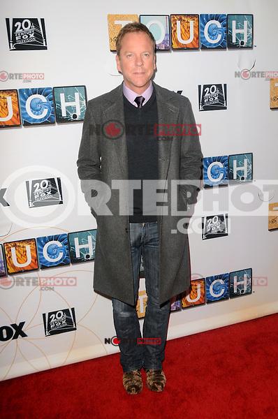 Kiefer Sutherland asiste a la proyecci&oacute;n TOUCH y panel de discusi&oacute;n en el Teatro Leonard H. Goldenson en North Hollywood, California.<br /> (*Foto&copy;*mpi35/MediaPunch*/NortePhoto*)