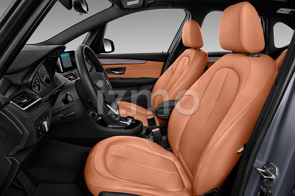 Front seat view of 2017 BMW 2-Series-Active-Tourer Luxury 5 Door Mini MPV Front Seat  car photos