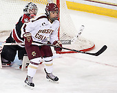Kristyn Capizzano (BC - 7) - The Boston College Eagles defeated the Northeastern University Huskies 3-0 on Tuesday, February 11, 2014, to win the 2014 Beanpot championship at Kelley Rink in Conte Forum in Chestnut Hill, Massachusetts.