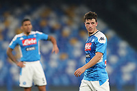 Diego Demme of Napoli looks on<br /> Napoli 14-01-2020 Stadio San Paolo <br /> Football Italy Cup 2019/2020 SSC Napoli - AC Perugia<br /> Photo Cesare Purini / Insidefoto