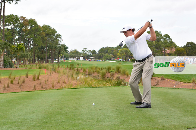 Phil Mickelson (USA) during round 1 at the Honda Classic from PGA National, Palm Beach Gardens, Florida.<br /> Picture: Fran Caffrey / Golffile
