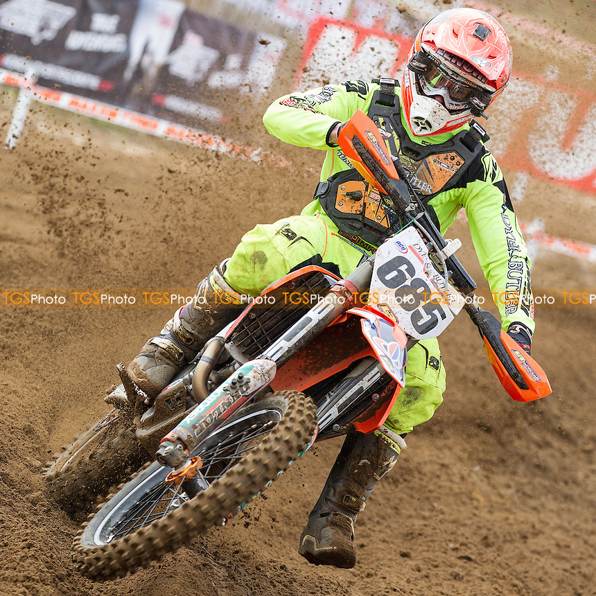 Steven Lenoir, Dyer & Butler KTM during Maxxis ACU British Motocross at Cadders Hill MX Circuit, Lyng on 20th March 2016