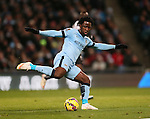 Wilfried Bony of Manchester City on his debut  - Barclays Premier League - Manchester City vs Newcastle Utd - Etihad Stadium - Manchester - England - 21st February 2015 - Picture Simon Bellis/Sportimage
