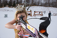 Miss Alaska 2015, Zoey Grenier's Anchorage Press photo shoot at Kincaid. Photo by James R. Evans