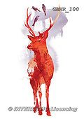 Simon, REALISTIC ANIMALS, REALISTISCHE TIERE, ANIMALES REALISTICOS, paintings+++++RobertF_UselessDeer,GBWR100,#a#, EVERYDAY