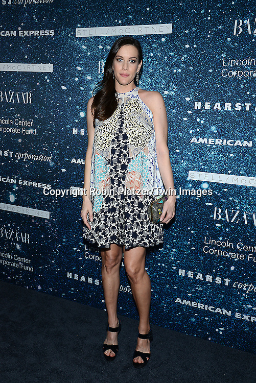 Liv Tyler attends the Stella McCartney Honored by Lincoln Center at Gala on November 13, 2014 at Alice Tully Hall in New York City, USA. She was given the Women's Leadership Award which was presented bythe LIncoln Center for the Performing Arts' Corporate Fund.<br /> <br /> photo by Robin Platzer/Twin Images<br />  <br /> phone number 212-935-0770