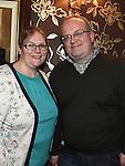 Maura and Gareth Murtagh at Paul McGovern's in Shearman's Bar. Photo:Colin Bell/pressphotos.ie