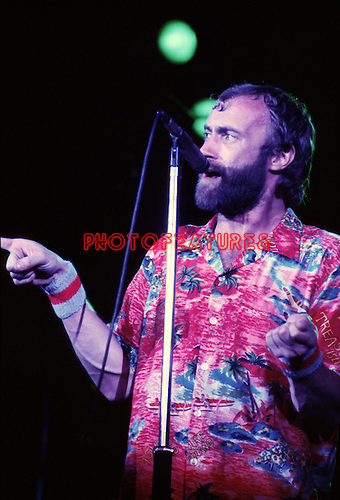 Genesis 1980 Plil Collins at the Greek.<br /> &copy; Chris Walter