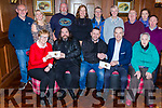 Kerry Bikers presenting the proceeds of their recent toy run to charities in Scotts Hotel on Friday night front row l-r: Josephine Clifford Kerry Parents and Friends, David Foley, Daniel O'Leary, Liam Twomey St Francis Special School Beaufort,Back row: Kathleen Shanahan Mount Eagle Lodge, John Keogh, Patricia O'Donoghue, Fiona CArroll, Ger Reidy, Maggie Large, Laurance Kelly, Kay Foley, John Savage