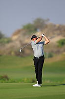 Graeme Storm (ENG) during the first round of the NBO Open played at Al Mouj Golf, Muscat, Sultanate of Oman. <br /> 15/02/2018.<br /> Picture: Golffile | Phil Inglis<br /> <br /> <br /> All photo usage must carry mandatory copyright credit (&copy; Golffile | Phil Inglis)