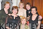 DIAMONDS: Enjoying Womens Christmas at the Diamonds and Divas Fashion Extravaganza in the Muckross Park Hotel, Killarney, last Saturday night were, l-r: Noreen Buckley, Faha, Mary OConnell, Caherciveen, Mary Buckley, Faha, Phena Buckley, Caherciveen, Reidin Coughlan, Killarney, and Breda Broderick, Milltown..