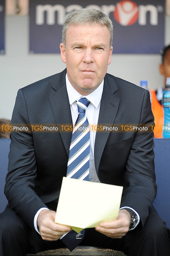 Millwall manager Kenny Jackett - Millwall vs Brighton & Hove Albion - NPower Championship Football at the New Den, London - 22/09/12 - MANDATORY CREDIT: Anne-Marie Sanderson/TGSPHOTO - Self billing applies where appropriate - 0845 094 6026 - contact@tgsphoto.co.uk - NO UNPAID USE.