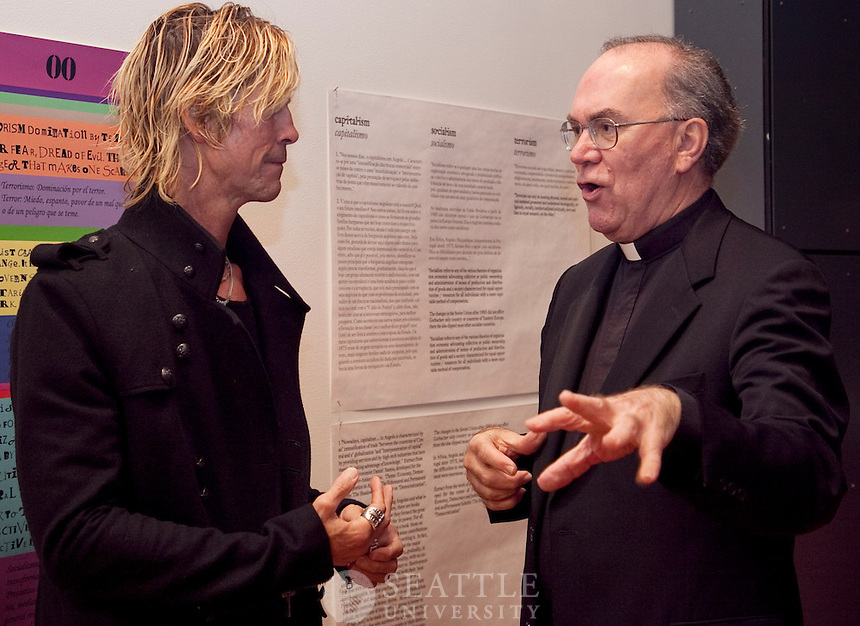 10212011- Duff McKagan.Reception, Interview, and Book Signing.Former Guns & Roses, Velvet Revolver, SU student's book signing.