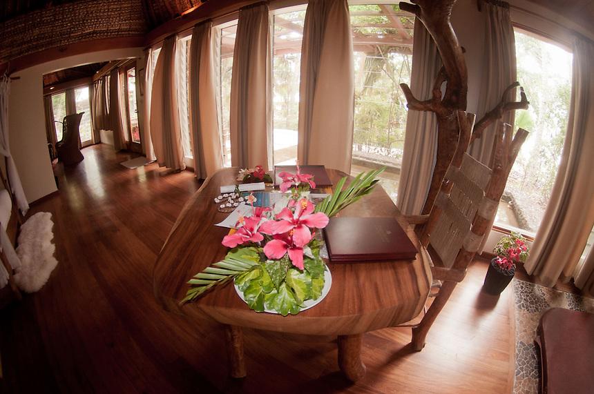 Inside Bure 14, Turtle Island, Yasawa Islands, Fiji