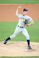 September 10, 2009: Tim Melville of the Burlington Bees. The Bees are the Midwest League affiliate for the Kansas City Royals. Photo by: Chris Proctor/Four Seam Images